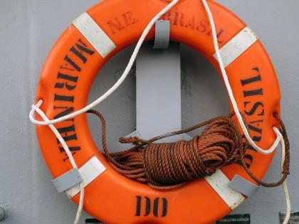 orange lifebelt
